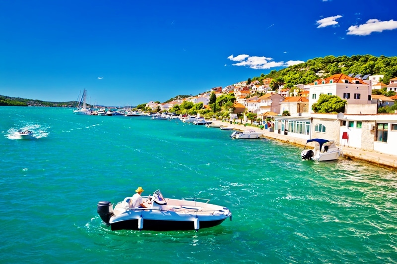 boat excursions summer in croatia